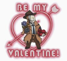 Be My Nick Valentine Kids Tee