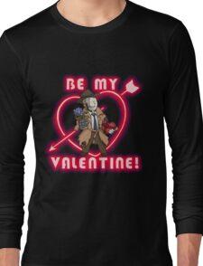 Be My Nick Valentine Long Sleeve T-Shirt