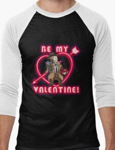 Be My Nick Valentine Men's Baseball ¾ T-Shirt