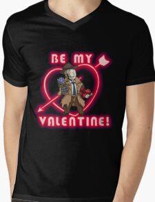 Be My Nick Valentine Mens V-Neck T-Shirt