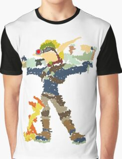 Jak and Daxter - Scribble Art Graphic T-Shirt