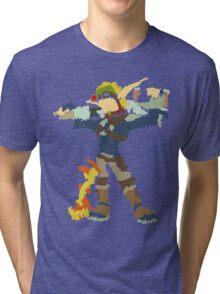 Jak and Daxter - Scribble Art Tri-blend T-Shirt