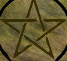 Pentacle 0153 by Chandra Nyleen Sticker