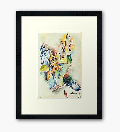 Edition #09 Framed Print