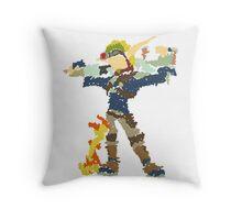 Jak and Daxter - Scribble Art Throw Pillow