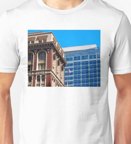 Architecture - Old vs New Unisex T-Shirt