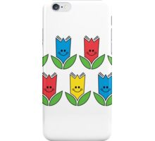 Flowers Of Primary Colors - Fleurs Aux Couleurs Primaires iPhone Case/Skin