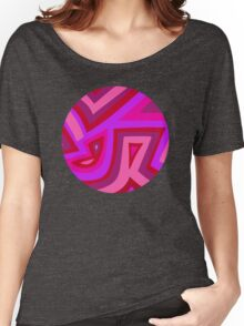 Pinks (circle) Women's Relaxed Fit T-Shirt