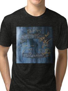 BON JOVI NEW JERSEY Tri-blend T-Shirt
