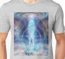 """A Spark of the Creator!"" -   Trinity-  Sacred Geometry  Unisex T-Shirt"