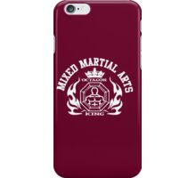 MMA Mixed Martial Arts Octagon King iPhone Case/Skin
