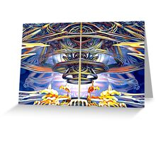 Rings of Mystery Greeting Card