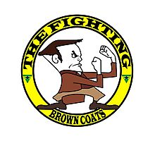 The Fighting Brown Coats with logo Photographic Print