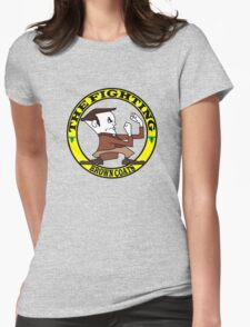 The Fighting Brown Coats with logo Womens Fitted T-Shirt