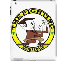 The Fighting Brown Coats with logo iPad Case/Skin