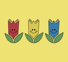 Flowers Of Primary Colors - Fleurs Aux Couleurs Primaires Kids Clothes