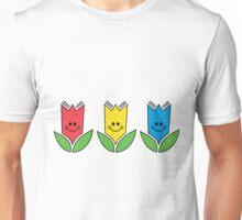 Flowers Of Primary Colors - Fleurs Aux Couleurs Primaires Unisex T-Shirt