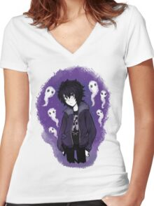 Nico di Angelo Women's Fitted V-Neck T-Shirt