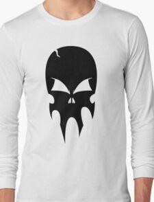 Skull - version 1 - black Long Sleeve T-Shirt
