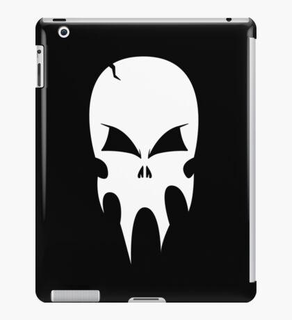 Skull - version 2 - white iPad Case/Skin