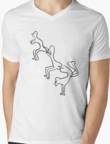 Buttguys Mens V-Neck T-Shirt