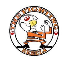 The Fighting Rebels with logo Photographic Print