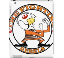 The Fighting Rebels with logo iPad Case/Skin