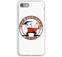 The Fighting Red Shirts with logo iPhone Case/Skin