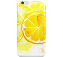 Lemon Montage iPhone Case/Skin