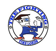 The Fighting Tine Lords with logo Photographic Print