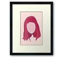 Ariel Pink Framed Print