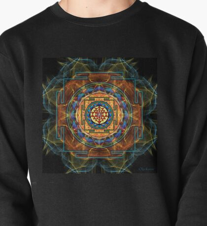 The Sri Yantra - Sacred Geometry Pullover