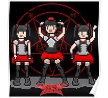 """Baby """"Pixel"""" Metal !! (black) Poster"""