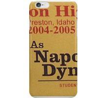 NAPOLEAN DYNAMITE iPhone Case/Skin