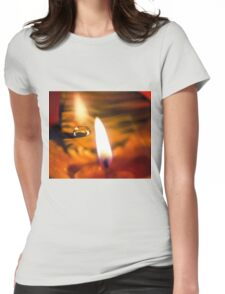 Taken by Fire Womens Fitted T-Shirt
