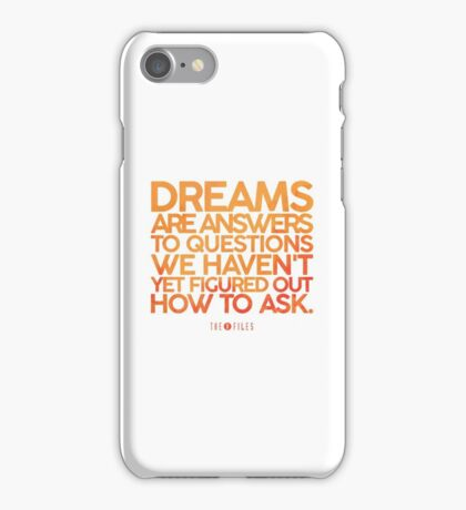 X-Files Dreams iPhone Case/Skin