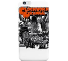Clockwork Orange Graphic iPhone Case/Skin