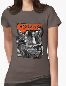 Clockwork Orange Graphic Womens Fitted T-Shirt