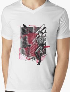 Levi Ackerman Mens V-Neck T-Shirt