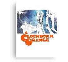 Clockwork Orange Alley Canvas Print