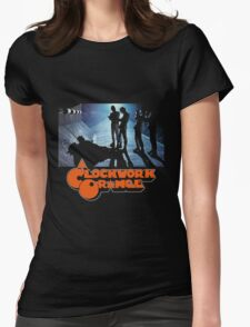 Clockwork Orange Alley Womens Fitted T-Shirt