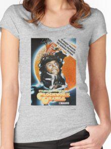 Clockwork Orange Poster Women's Fitted Scoop T-Shirt