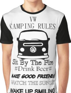 camping rules Graphic T-Shirt