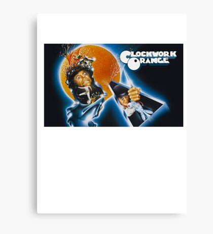 Clockwork Orange graphic tee Canvas Print