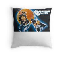 Clockwork Orange graphic tee Throw Pillow
