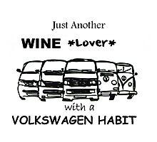 wine lover Photographic Print