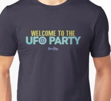 Welcome to the UFO Party Unisex T-Shirt