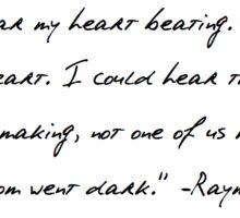 Raymond Carver Quote Sticker
