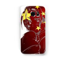 China and His Flag Samsung Galaxy Case/Skin