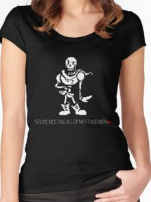 You're Meeting All of My Standards Women's Fitted Scoop T-Shirt